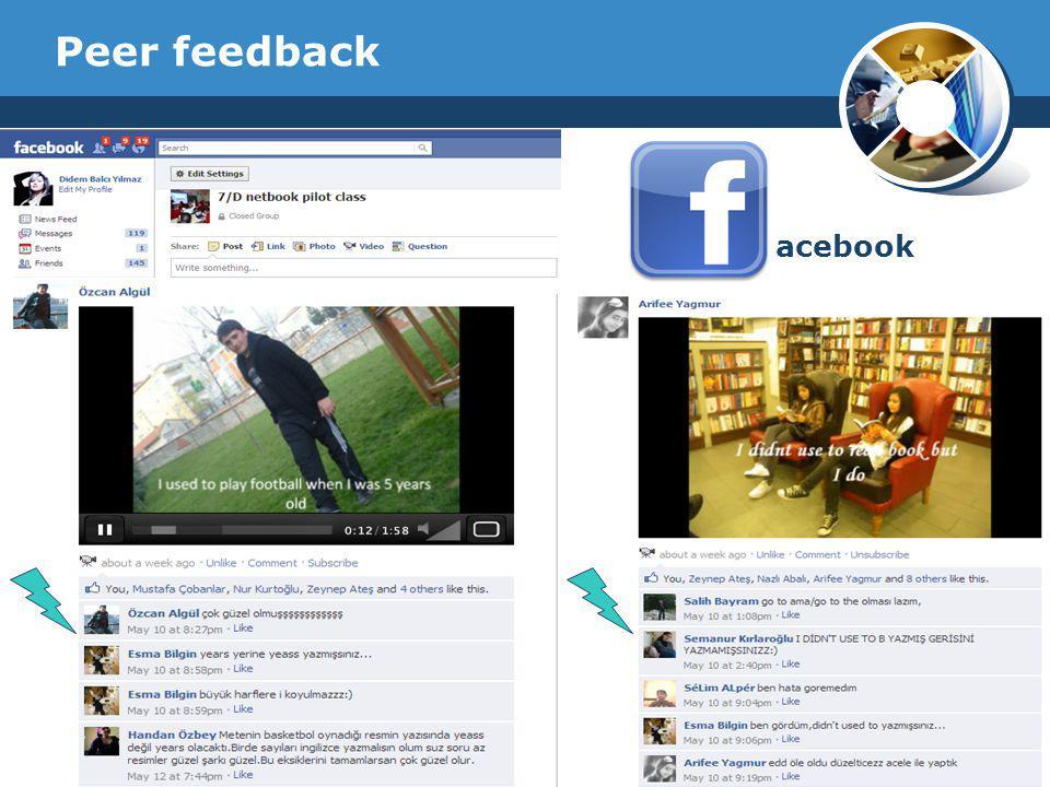 Peer feedback acebook Company Logo