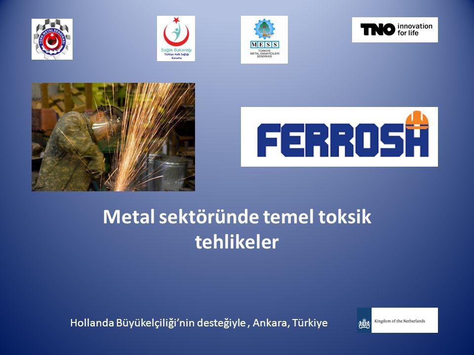 Metal sektöründe temel toksik tehlikeler