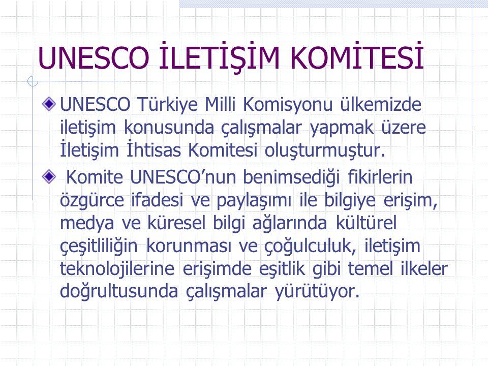 UNESCO İLETİŞİM KOMİTESİ