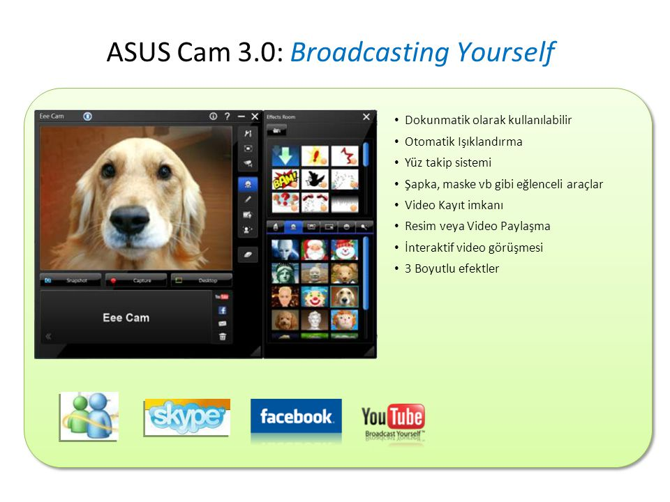 ASUS Cam 3.0: Broadcasting Yourself