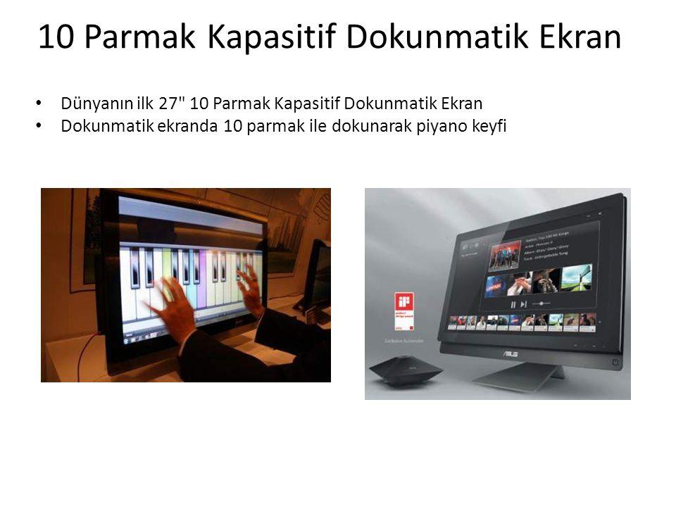 10 Parmak Kapasitif Dokunmatik Ekran
