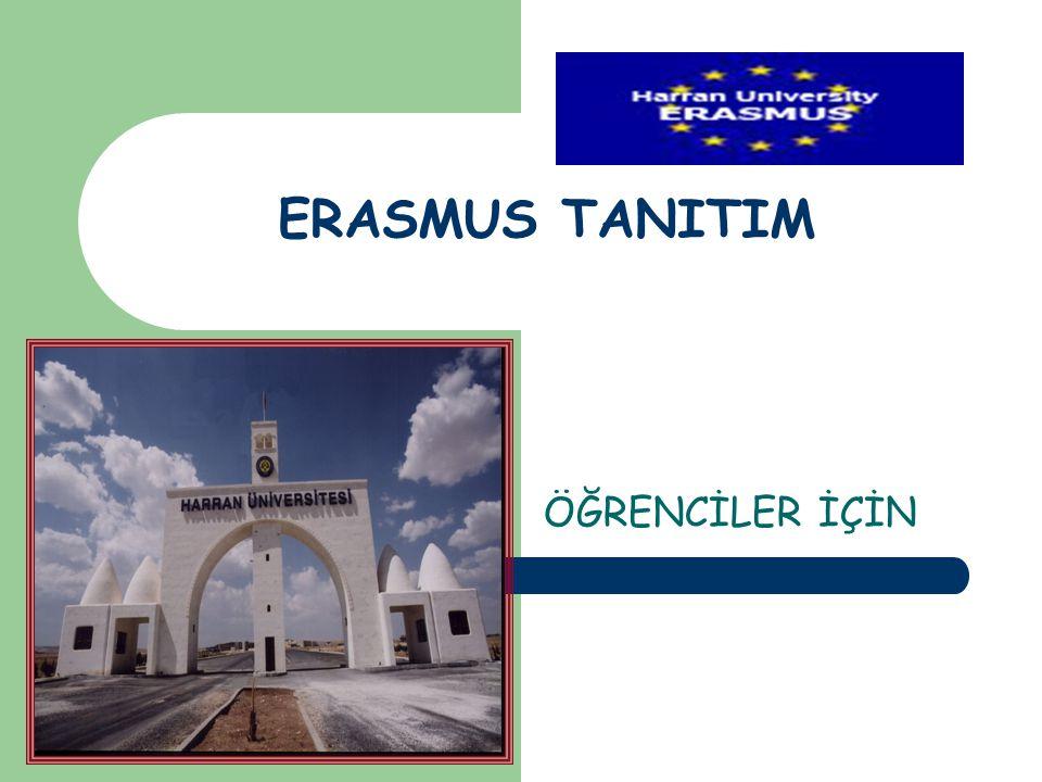 ERASMUS TANITIM ÖĞRENCİLER İÇİN