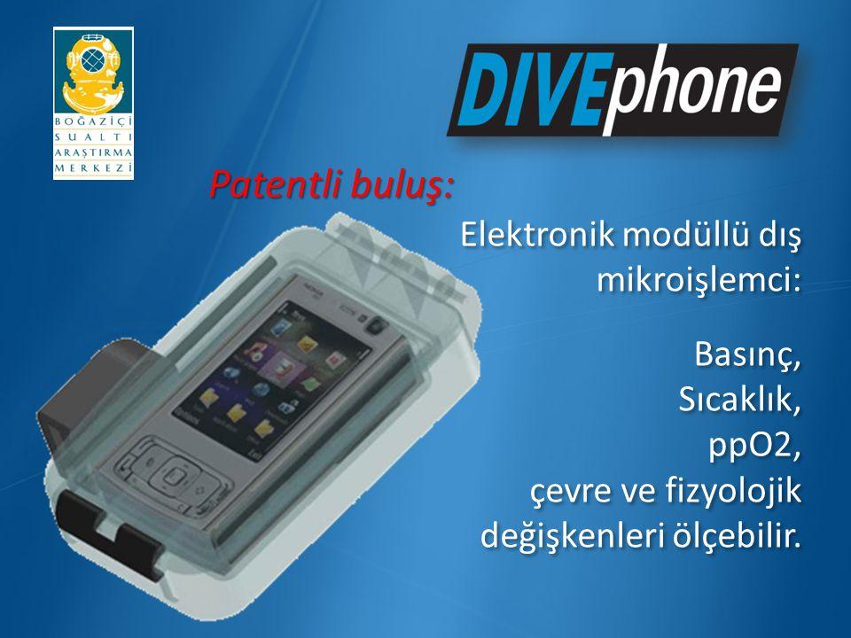 Patentli buluş: Elektronik modüllü dış mikroişlemci: Basınç, Sıcaklık,