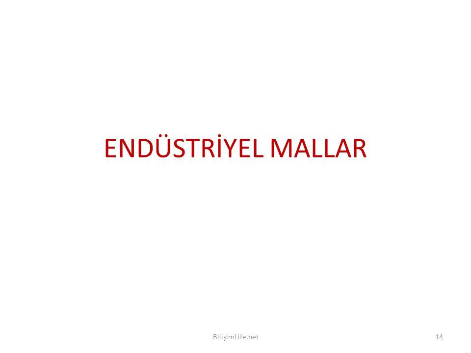 ENDÜSTRİYEL MALLAR BilişimLife.net