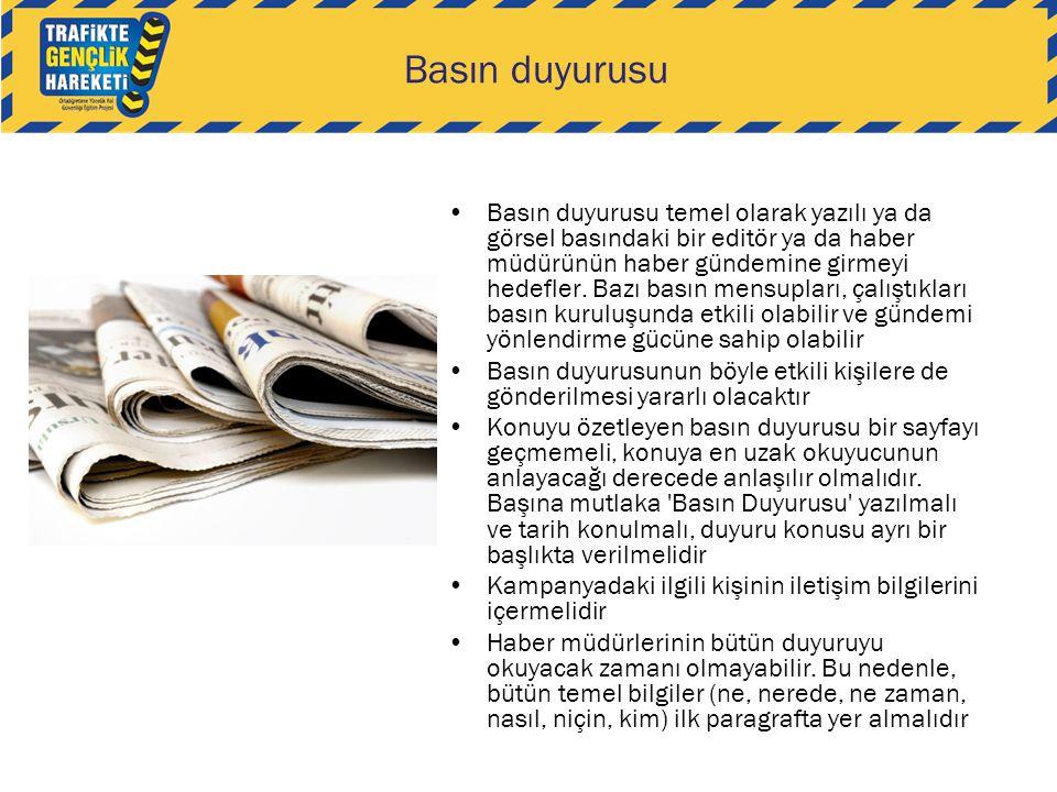 Basın duyurusu