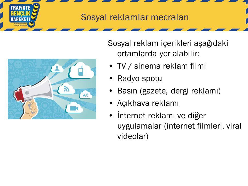 Sosyal reklamlar mecraları