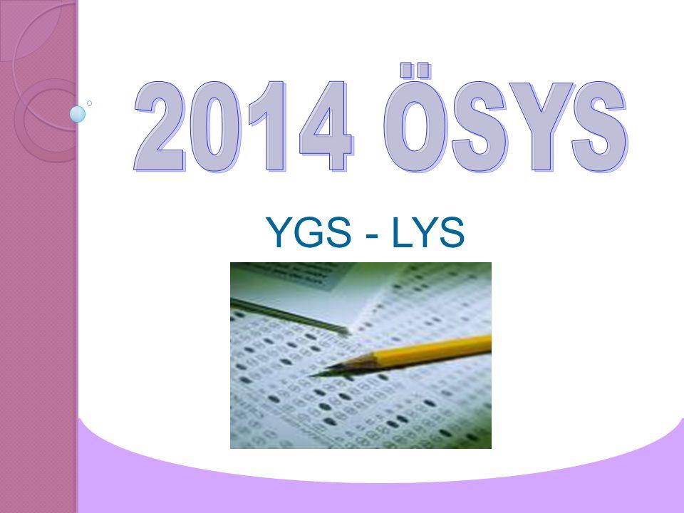 2014 ÖSYS YGS - LYS