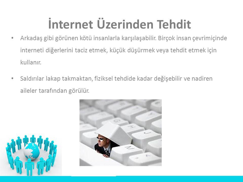 İnternet Üzerinden Tehdit