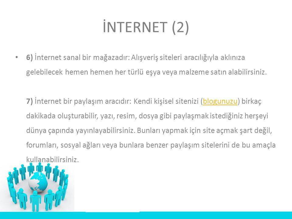 İNTERNET (2)