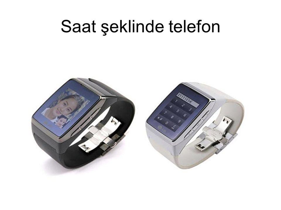 Saat şeklinde telefon