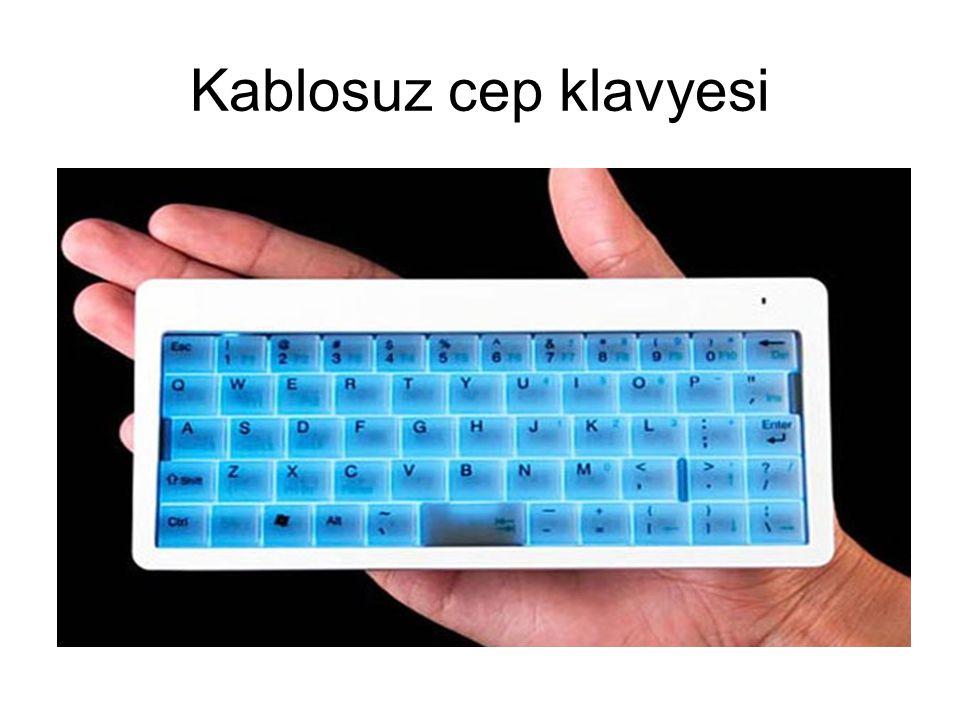 Kablosuz cep klavyesi