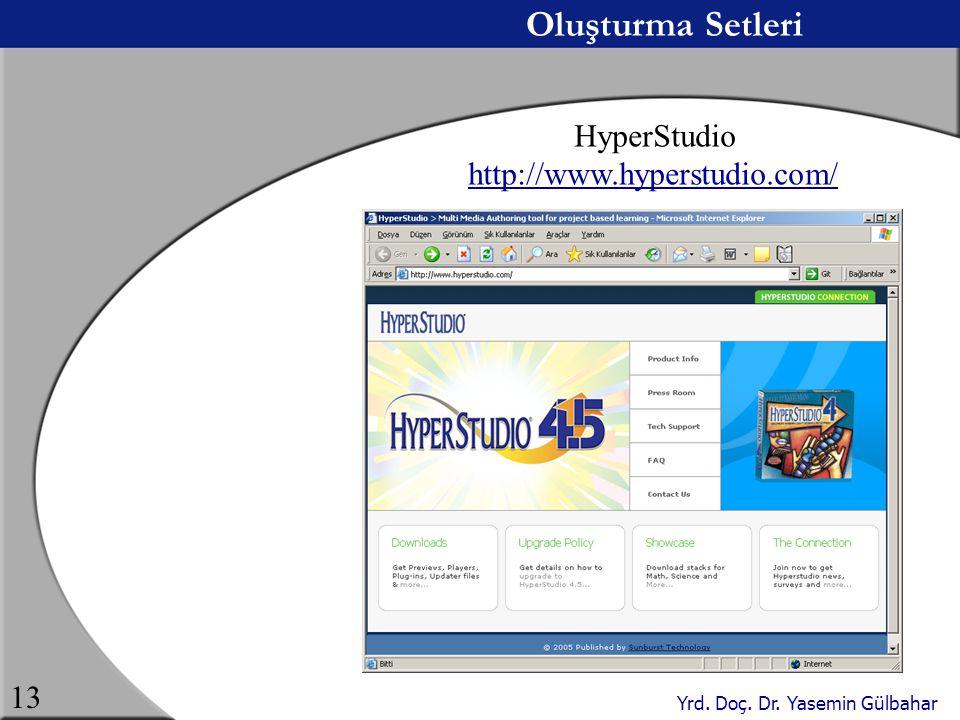 Oluşturma Setleri HyperStudio http://www.hyperstudio.com/
