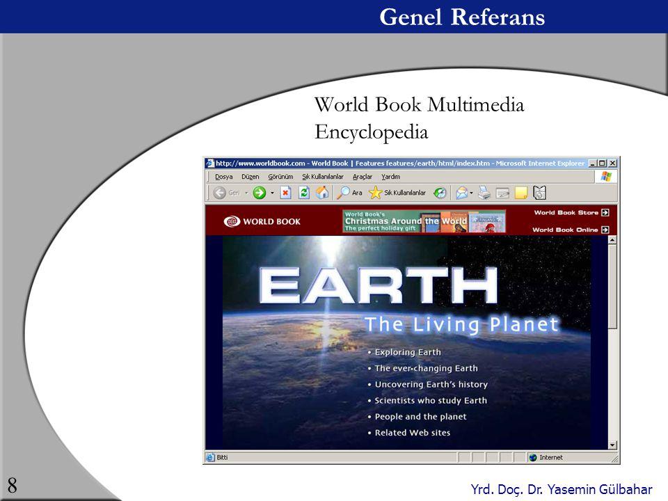 Genel Referans World Book Multimedia Encyclopedia