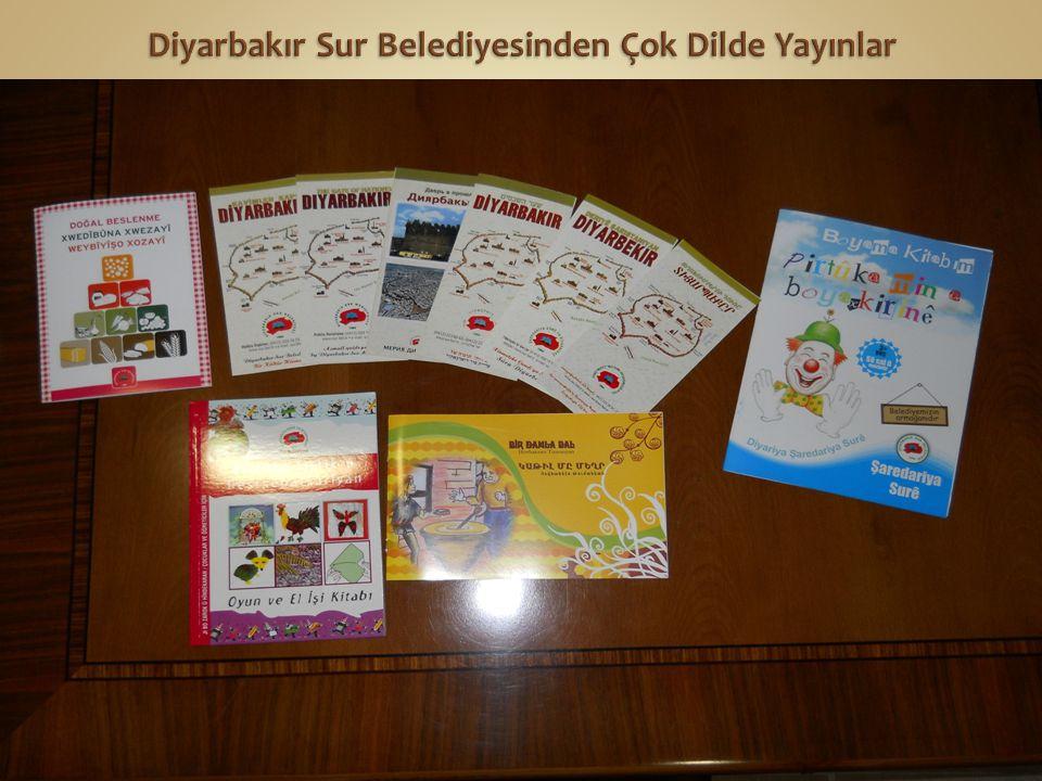 Diyarbakır Sur Belediyesinden Çok Dilde Yayınlar