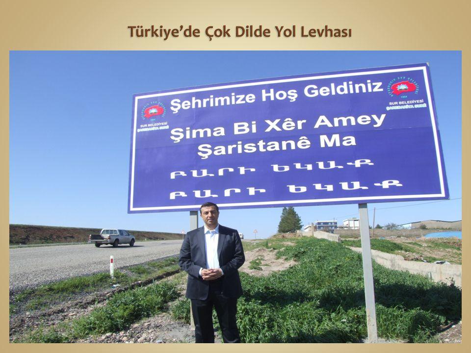 Türkiye'de Çok Dilde Yol Levhası