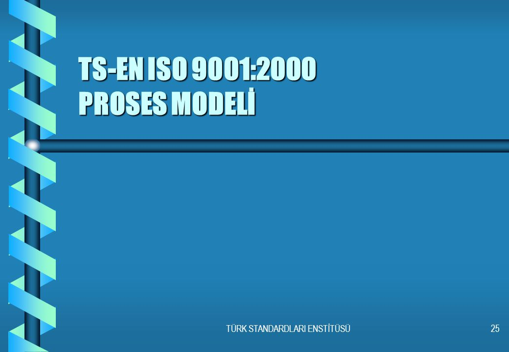 TS-EN ISO 9001:2000 PROSES MODELİ