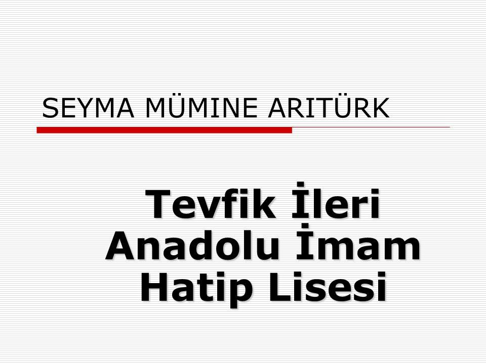 Tevfik İleri Anadolu İmam Hatip Lisesi