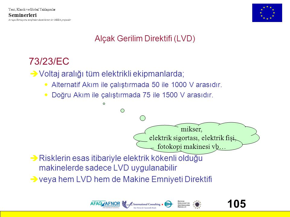 Alçak Gerilim Direktifi (LVD)