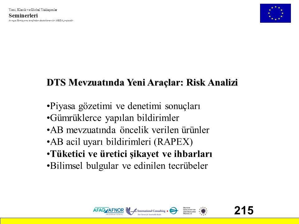 215 DTS Mevzuatında Yeni Araçlar: Risk Analizi