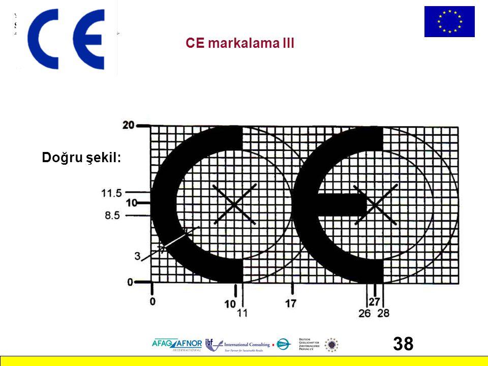 CE markalama III Doğru şekil: 38 CAB_2.ppt