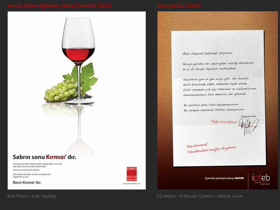 Kırmızı Kalem Eğitimleri Murat Çetintürk Ödülü Hürriyet Özel Ödülü