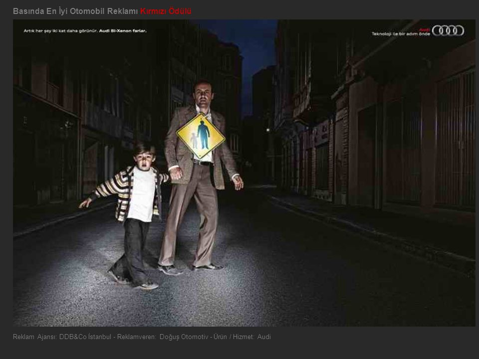 Basında En İyi Otomobil Reklamı Kırmızı Ödülü