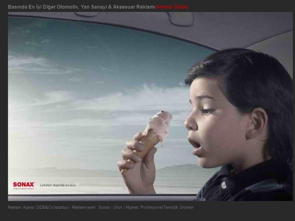 Basında En İyi Diğer Otomotiv, Yan Sanayi & Aksesuar Reklamı Kırmızı Ödülü