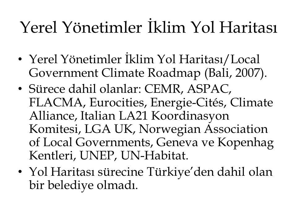 Yerel Yönetimler İklim Yol Haritası