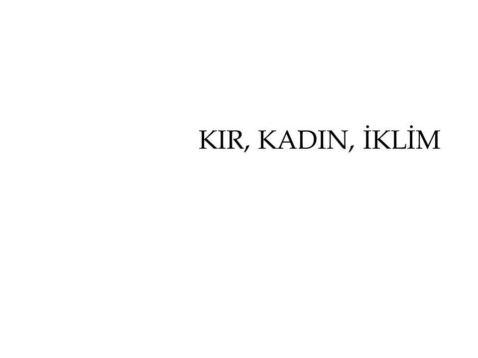 KIR, KADIN, İKLİM