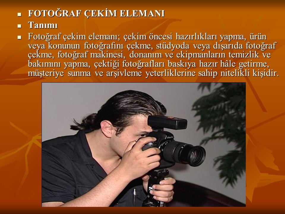 FOTOĞRAF ÇEKİM ELEMANI