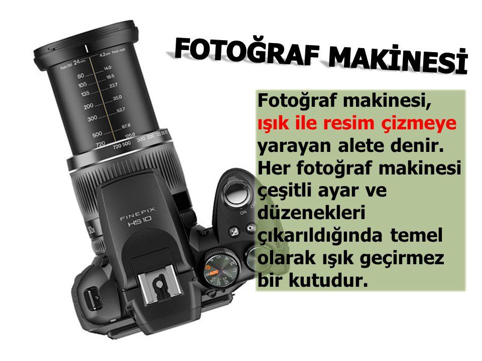 FOTOĞRAF MAKİNESİ