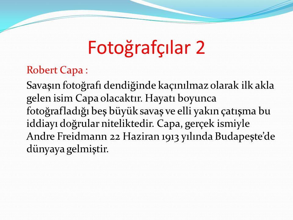 Fotoğrafçılar 2