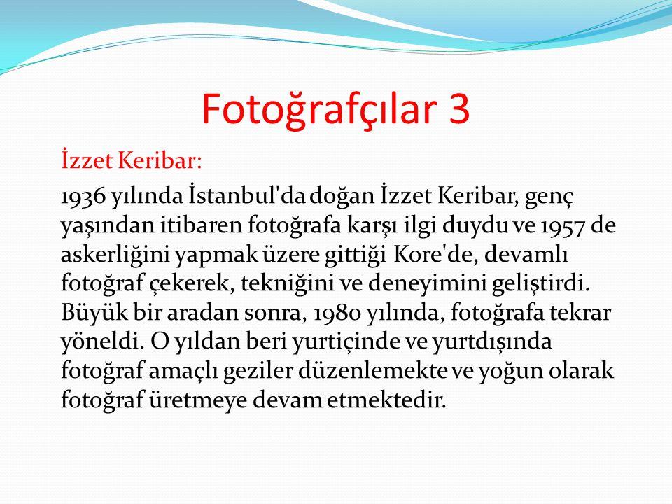 Fotoğrafçılar 3