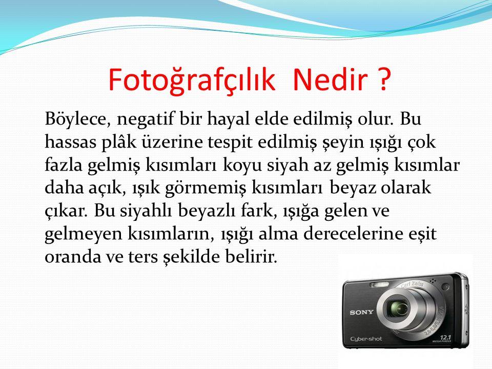 Fotoğrafçılık Nedir