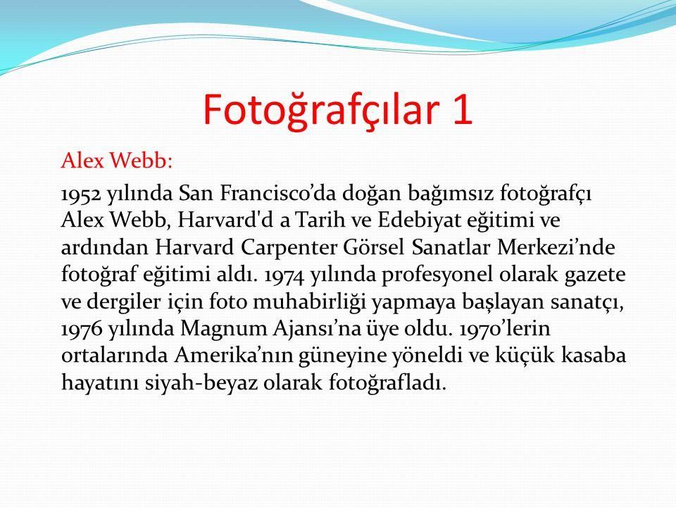 Fotoğrafçılar 1