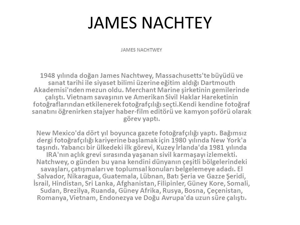 JAMES NACHTEY JAMES NACHTWEY