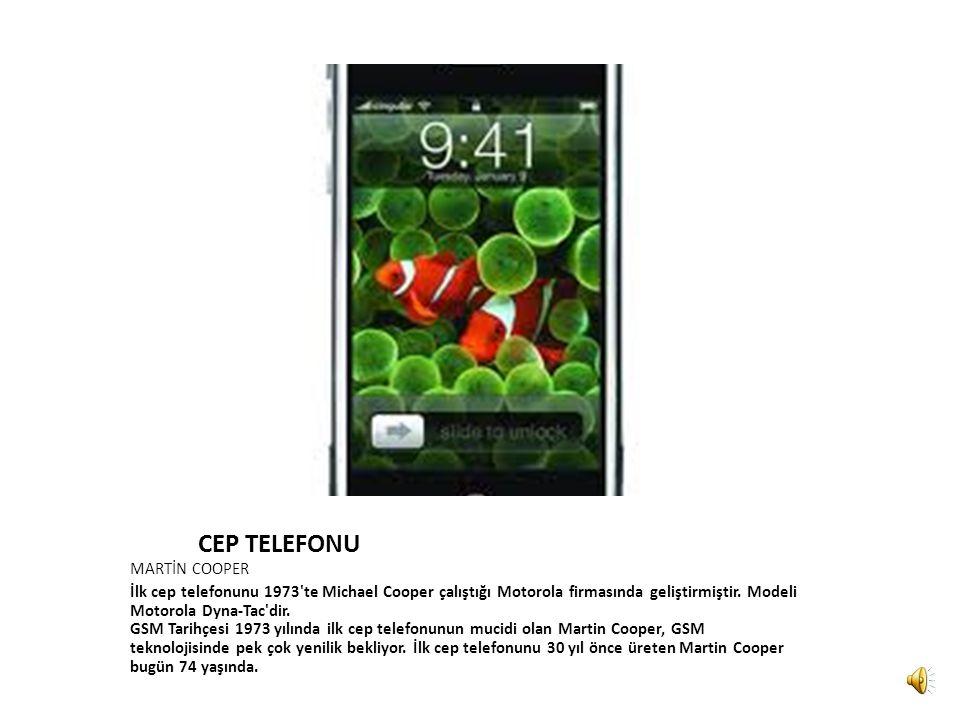 CEP TELEFONU MARTİN COOPER