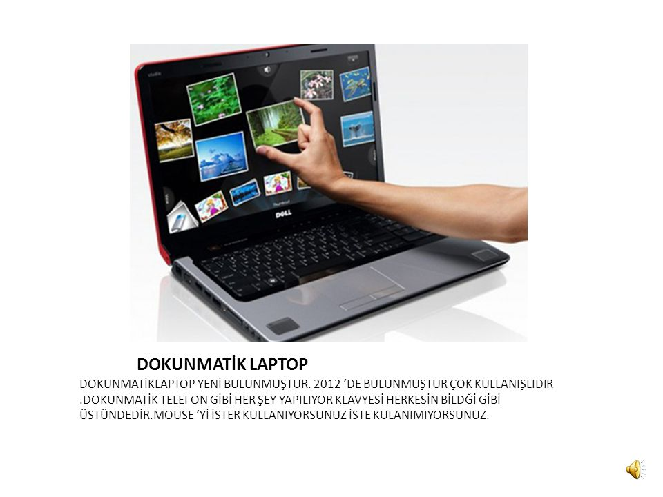 DOKUNMATİK LAPTOP