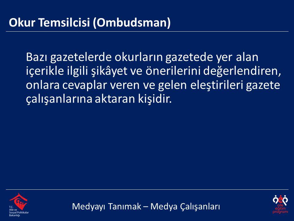Okur Temsilcisi (Ombudsman)