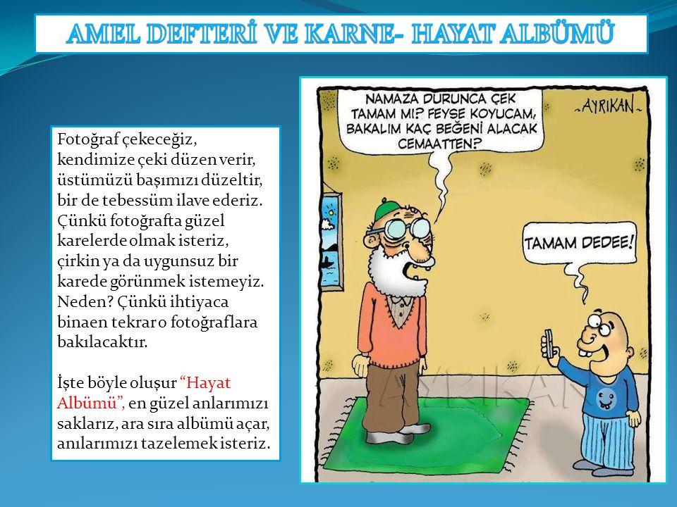 AMEL DEFTERİ VE KARNE- HAYAT ALBÜMÜ