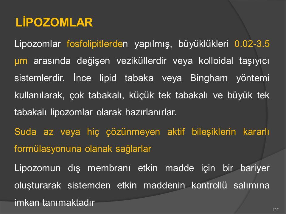 LİPOZOMLAR
