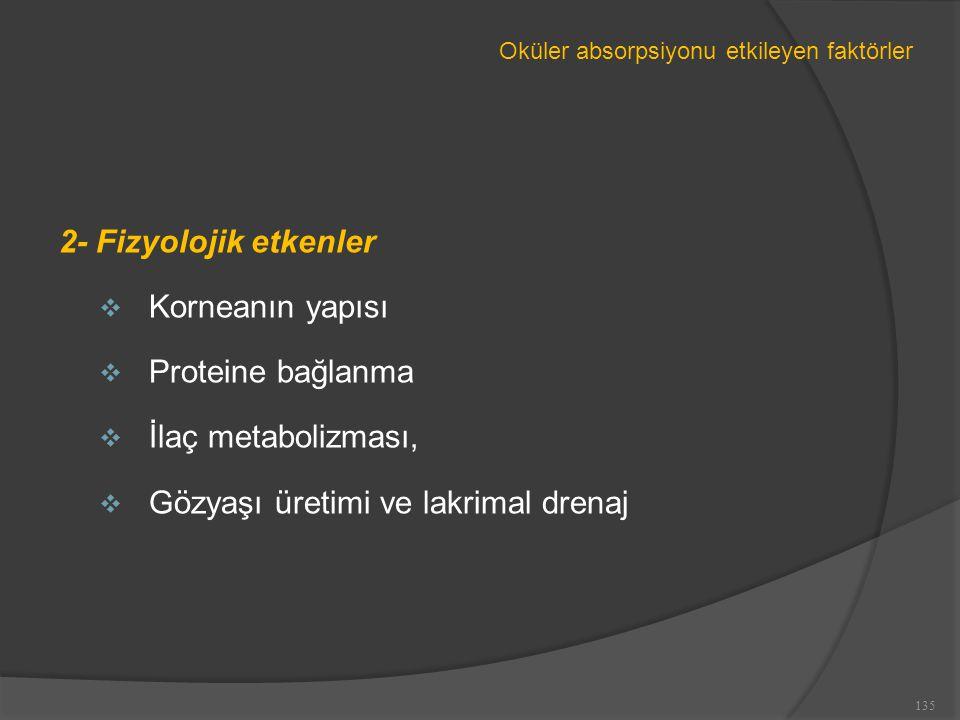 Gözyaşı üretimi ve lakrimal drenaj