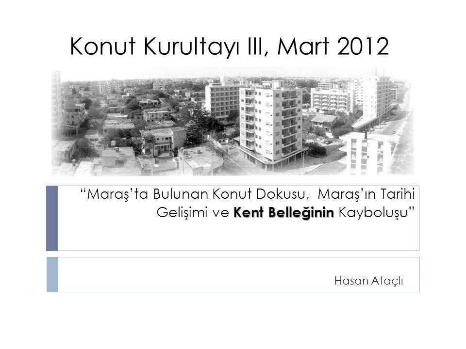 Konut Kurultayı III, Mart 2012