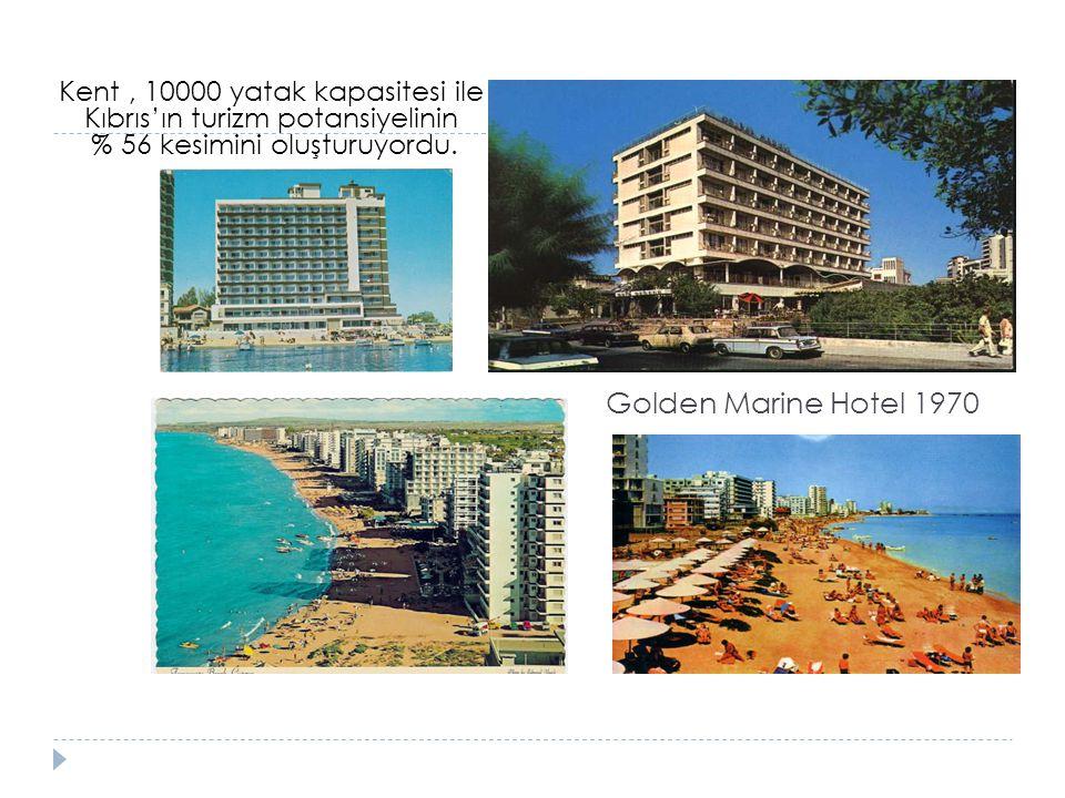 Kent , 10000 yatak kapasitesi ile Kıbrıs'ın turizm potansiyelinin