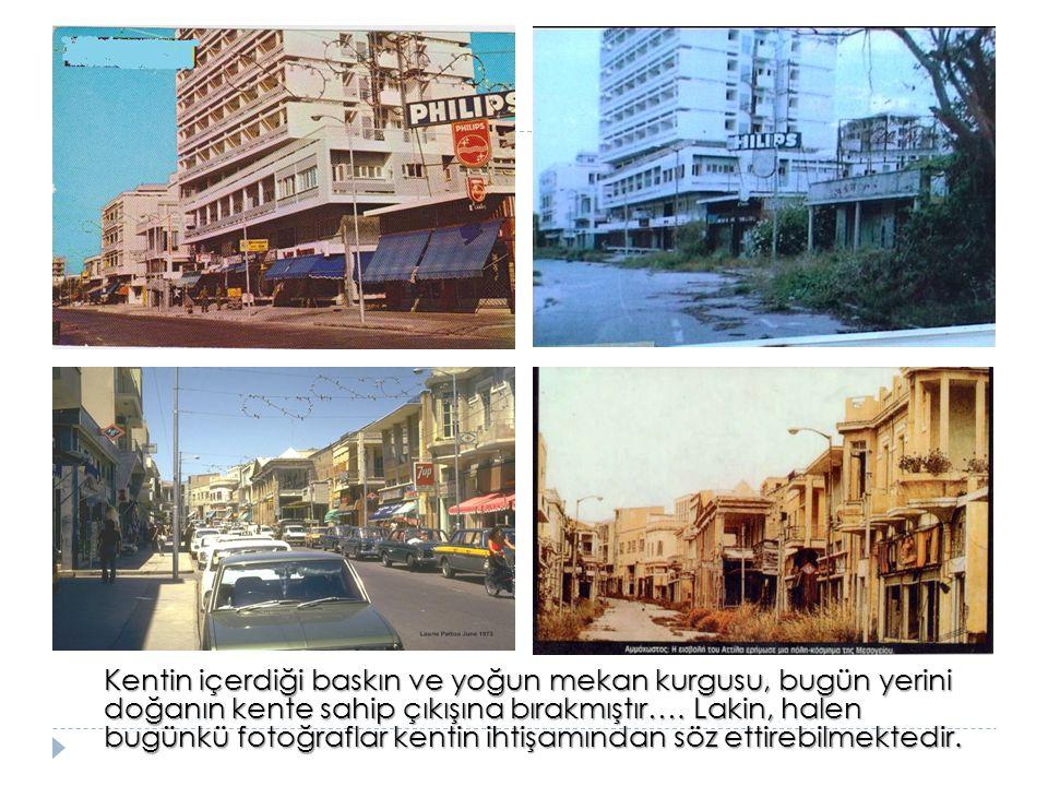 Kentin içerdiği baskın ve yoğun mekan kurgusu, bugün yerini doğanın kente sahip çıkışına bırakmıştır….