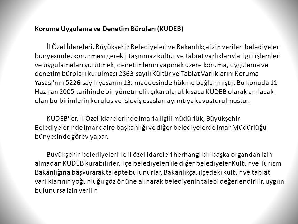 Koruma Uygulama ve Denetim Büroları (KUDEB)