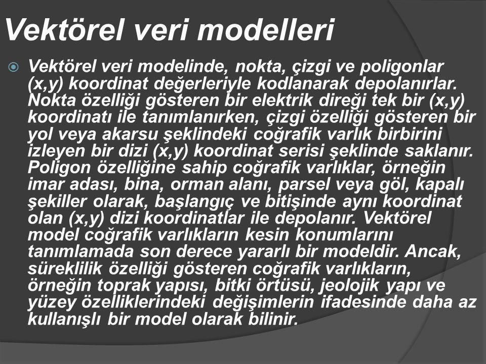 Vektörel veri modelleri