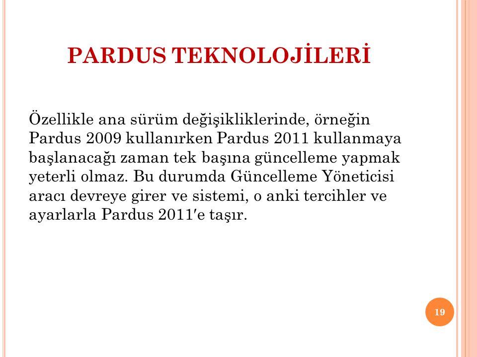 PARDUS TEKNOLOJİLERİ