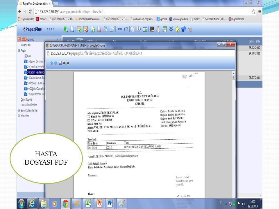 HASTA DOSYASI PDF