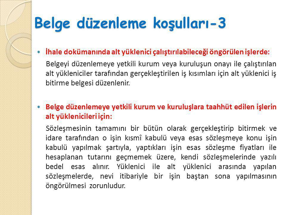 Belge düzenleme koşulları-3